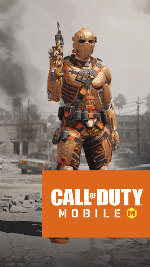 Call of Duty Mobile Iphone Wallpaper Character Ruin Industrial Revolution