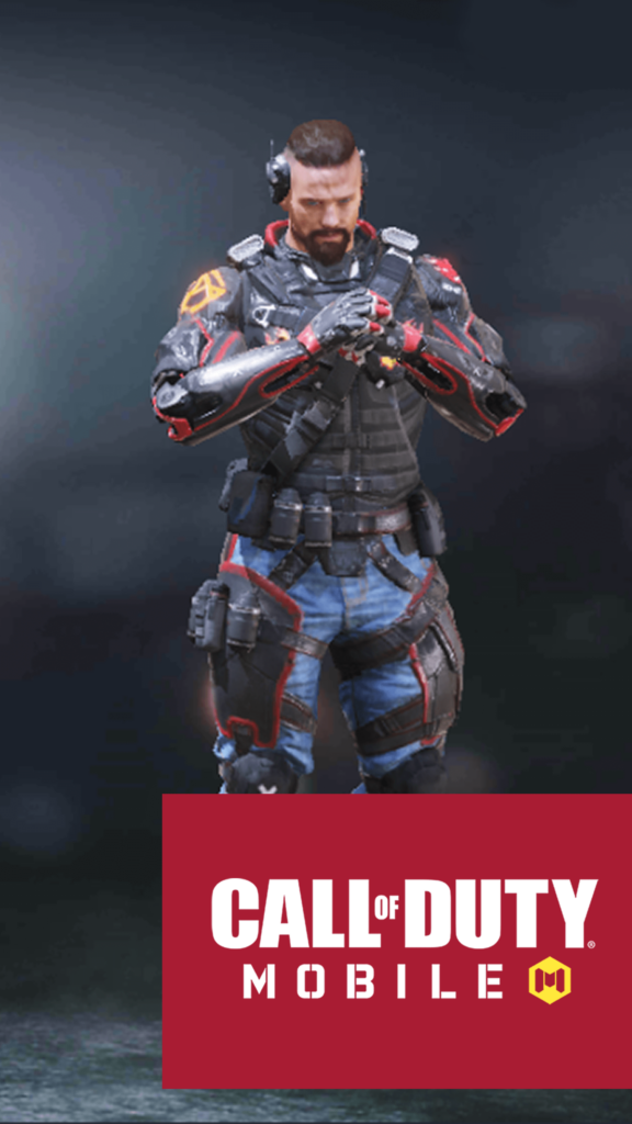 Call of Duty Mobile Iphone Wallpaper Character Ruin Spades