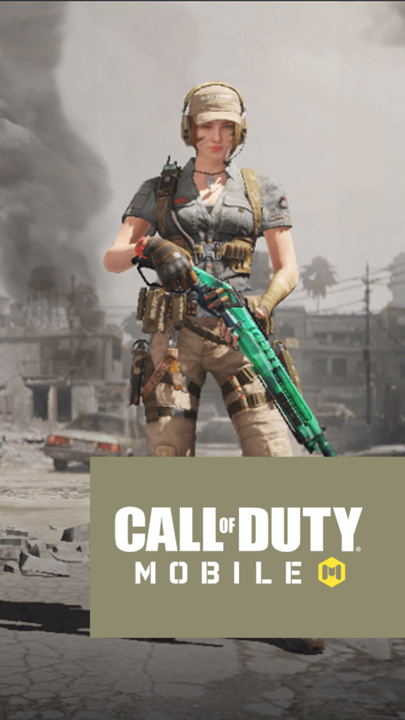 Call of Duty Mobile Iphone Wallpaper Character Urban Tracker