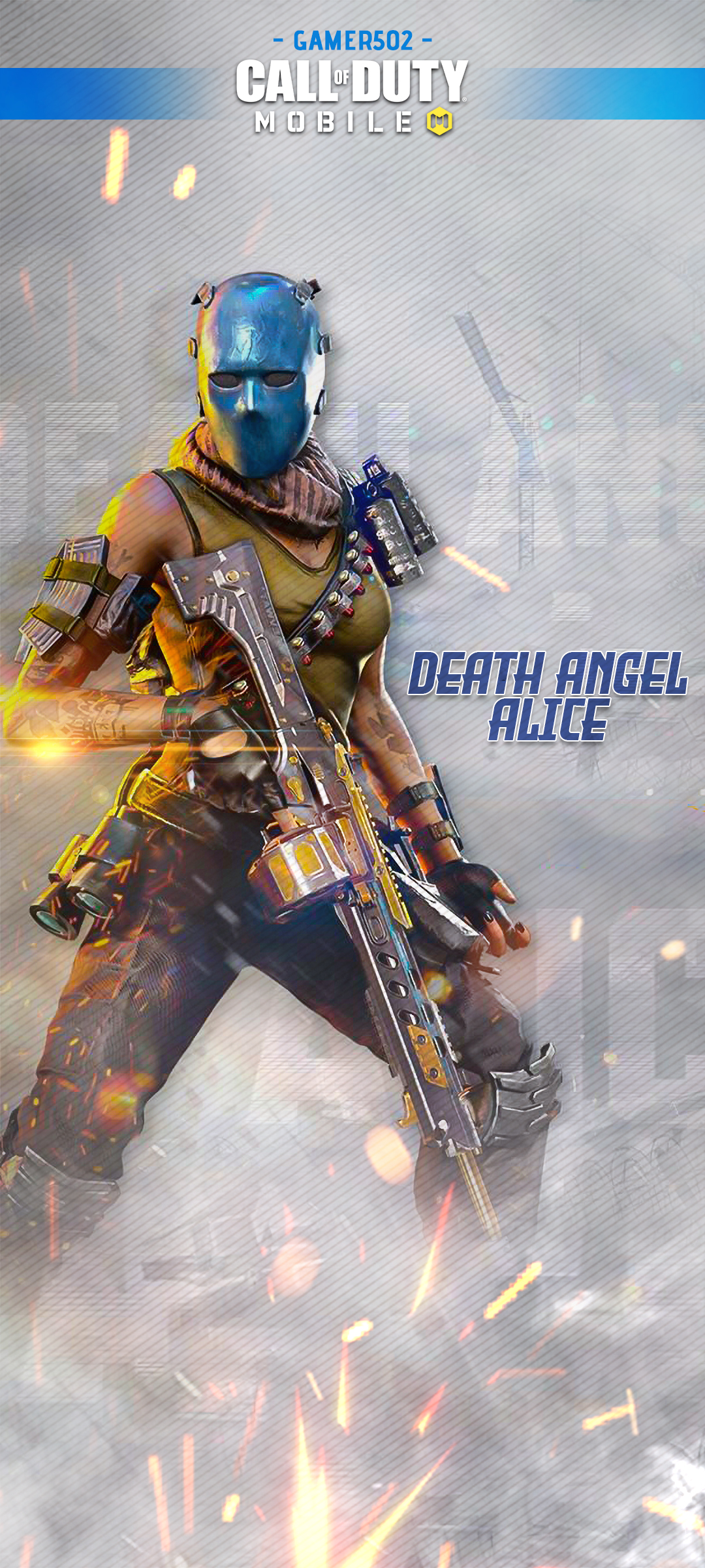 Call of Duty Mobile Wallpaper Death Angel Alice