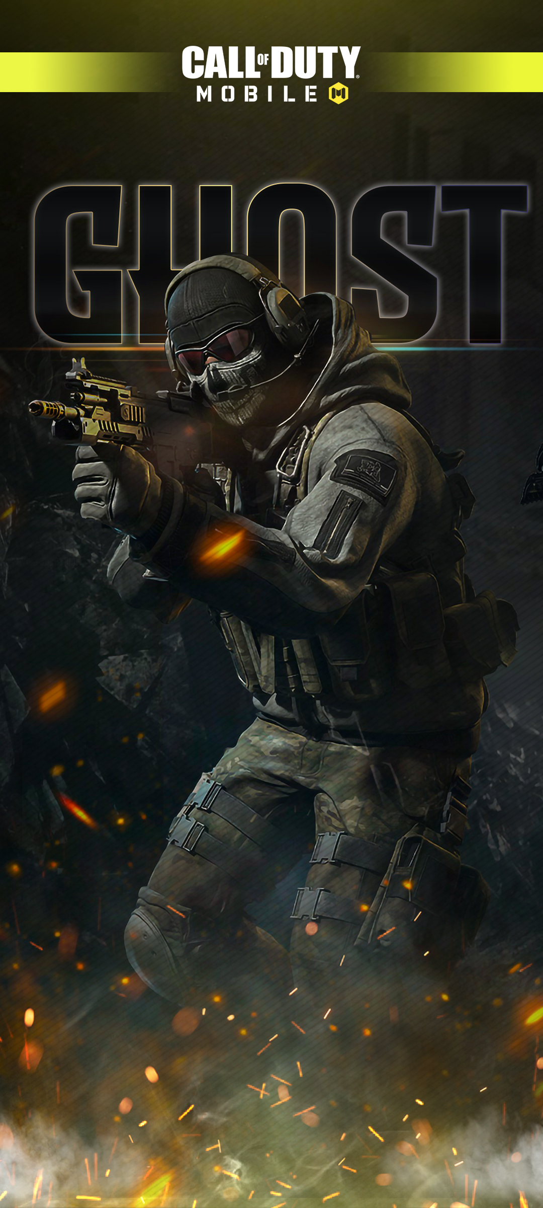 Call of Duty Mobile Wallpaper Ghost