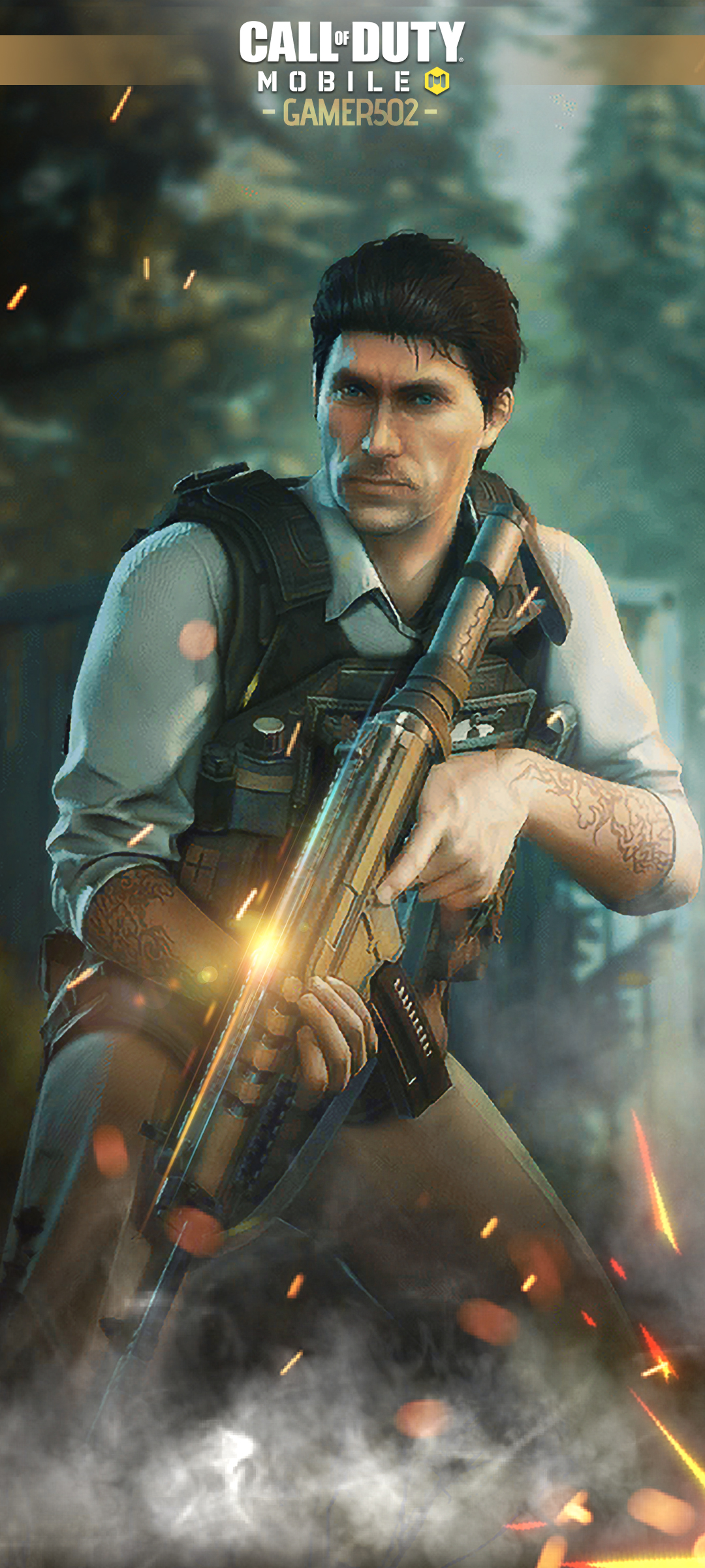 Call of Duty Mobile Wallpaper Makarov